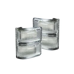 RECON-264140WHCLS-Ford-Superduty-08-16-F250-F350-Clear-White-Mirror-Light-LED-Kit