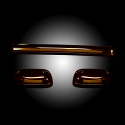 RECON-264156AMHP-Chevy-GMC-07-13-2nd-Gen-New-Body-Amber-Amber-Cab-Light-LED-Kit