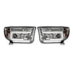 RECON-264194CLC-Toyota-Tundra-and-Sequoia-07-13-Clear-Chrome-Headlights-Projector