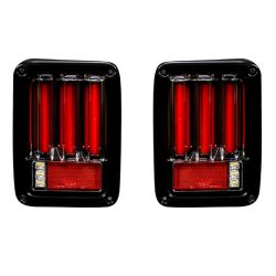 RECON-264234LEDBK-Jeep-07-17-JK-Wrangler-Smoked-Lens-Tail-Lights-LED