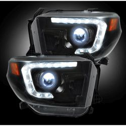 RECON-264294BKC-14-17-Toyota-Tundra-White-Smoked-Headlights-Projector