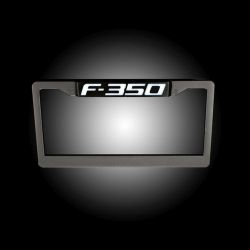 RECON-264311F350-Ford-F-350-Illuminated-Logo-Red-Black-License-Plate-LED