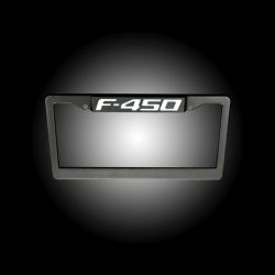 RECON-264311F450-Ford-F-450-Illuminated-Logo-Red-Black-License-Plate-LED