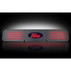 RECON-264321RFDRD-09-14-Ford-F-150-and-Raptor-Red-Aluminum-Emblems-Illuminated-door-sill