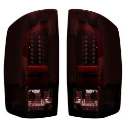 RECON-264371RBK-Dodge-RAM-02-06-1500--2500--3500-Red-Lens-Tail-Lights-LED