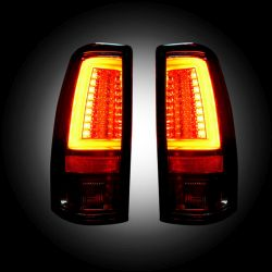 RECON-264373CL-Chevy-Silverado-GMC-Sierra-99-07-Clear-Tail-Lights-LED