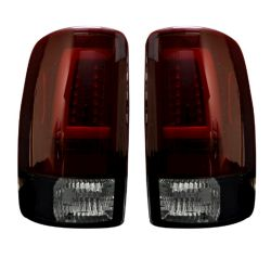 RECON-264377RBK-Chevy-and-GMC-Tahoe--Yukon--Suburban--Denali-00-06-Red-Lens-Tail-Lights-LED