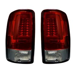 RECON-264377RD-Chevy-and-GMC-Tahoe--Yukon--Suburban--Denali-00-06-Red-Lens-Tail-Lights-LED