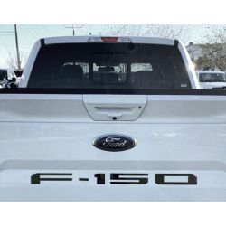 RECON-264382BK-Ford-18-19-F150-Black-Emblem-Raised-Logo