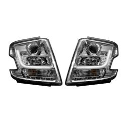 RECON-264400CLC-Chevy-Tahoe-15-17-Clear-Chrome-Headlights-Projector