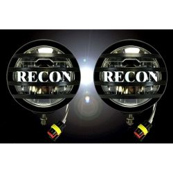RECON-264518-5-Round-Black-Running-Lights-LED