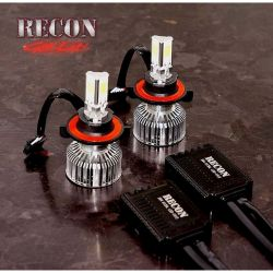 RECON-264H10LED-9145-H10-12V-White-Bulb-LED-High-Power-30w