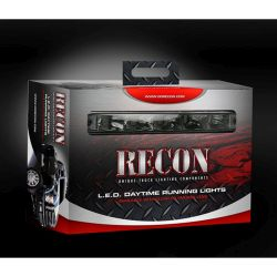 RECON-264151CL-Daytime-Running-Lights-2-Piece-set-Clear-White-Running-Lights-LED