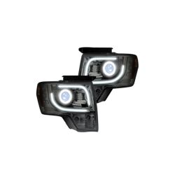 RECON-264190CLC-09-14-Ford-F150-and-Raptor-Clear-Chrome-Headlights-Projector