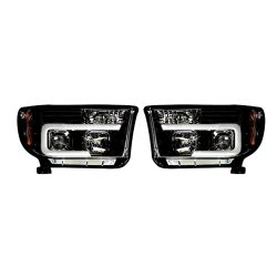 RECON-264194BKC-Toyota-Tundra-and-Sequoia-07-13-Smoked-Black-Headlights-Projector
