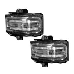 RECON-264245WHCL-Ford-17-18-F250-F350-F450-Clear-Lens---White-LED-Mirror-Light-LED-Kit