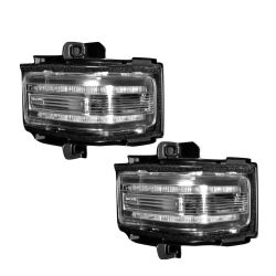 RECON-264245WHCLX-Ford-Superduty-17-18-F250-F350-F450-Clear-White-Mirror-Light-LED-Kit