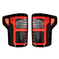 RECON-264268LEDBK-Ford-F150-15-17-and-Ford-Raptor-17-19-Smoked-Lens-Tail-Lights-LED