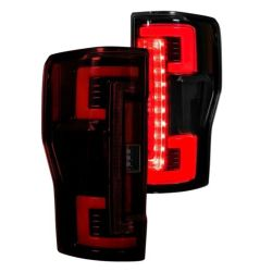 RECON-264299LEDRD-Ford-Superduty-17-19-F250-F350-F450-F550-Red-Tail-Lights-LED