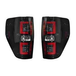 RECON-264368BK-Ford-09-14-F150--Raptor-Smoked-Lens-Tail-Lights-LED