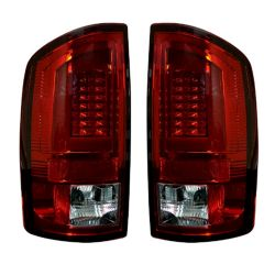 RECON-264371RD-Dodge-RAM-02-06-1500--2500--3500-Red-Lens-Tail-Lights-LED