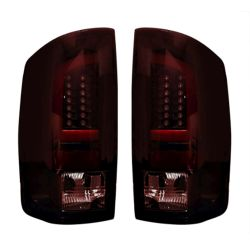 RECON-264379RBK-Dodge-RAM-07-09-1500--2500--3500-Red-Lens-Tail-Lights-LED