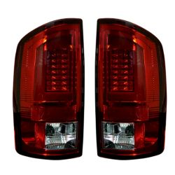 RECON-264379RD-Dodge-RAM-07-09-1500--2500--3500-Red-Lens-Tail-Lights-LED