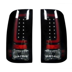 RECON-264389BK-GMC-Sierra-07-13-1500--2500--3500-Smoked-Lens-Tail-Lights-LED