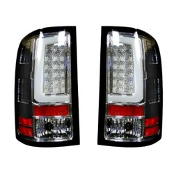 RECON-264389CL-GMC-Sierra-07-13-1500--2500--3500-Clear-lens-Tail-Lights-LED
