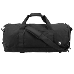Nixon-Unisex-C2956-1148-00-Pipes-45L-Duffle-All-Black-Nylon-Duffle