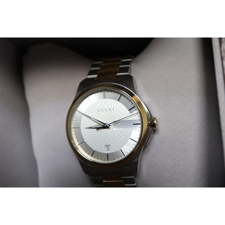 9b6aa89b9dc Gucci YA126450 Mens G Timeless Two tone Quartz Watch