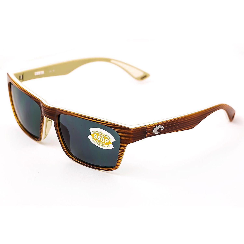 71f1762c76139 Costa Del Mar HNO 108 OGP Hinano Sunglasses 580P Frame Gray ...