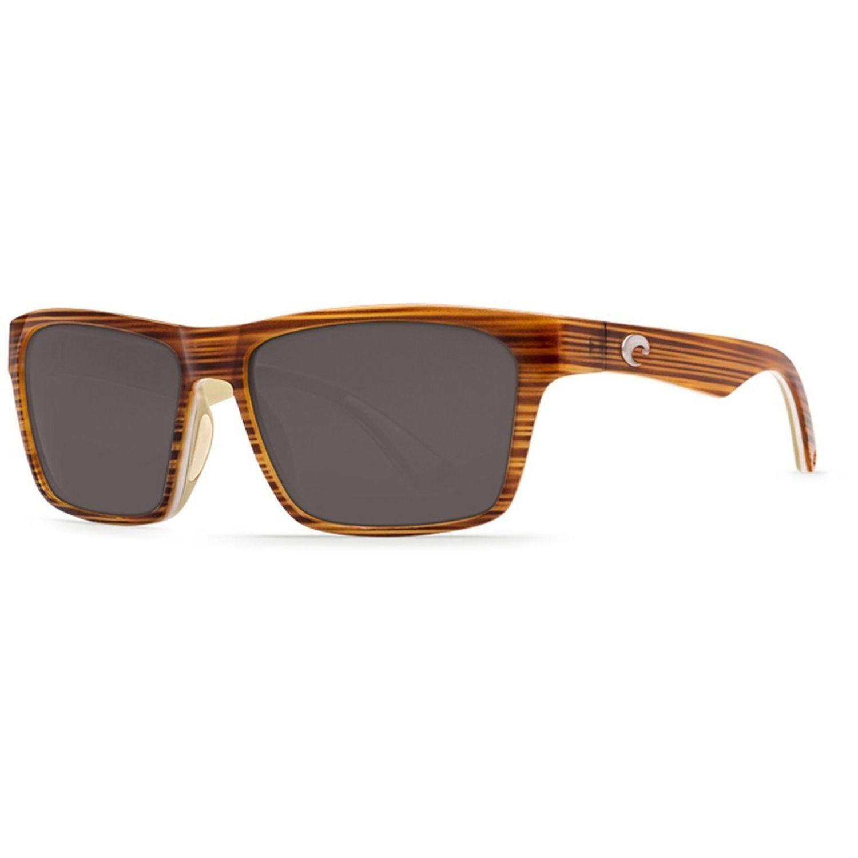 f4020b7c3d885 Costa Del Mar HNO 108 OGP Hinano Sunglasses 580P Frame Gray Lens