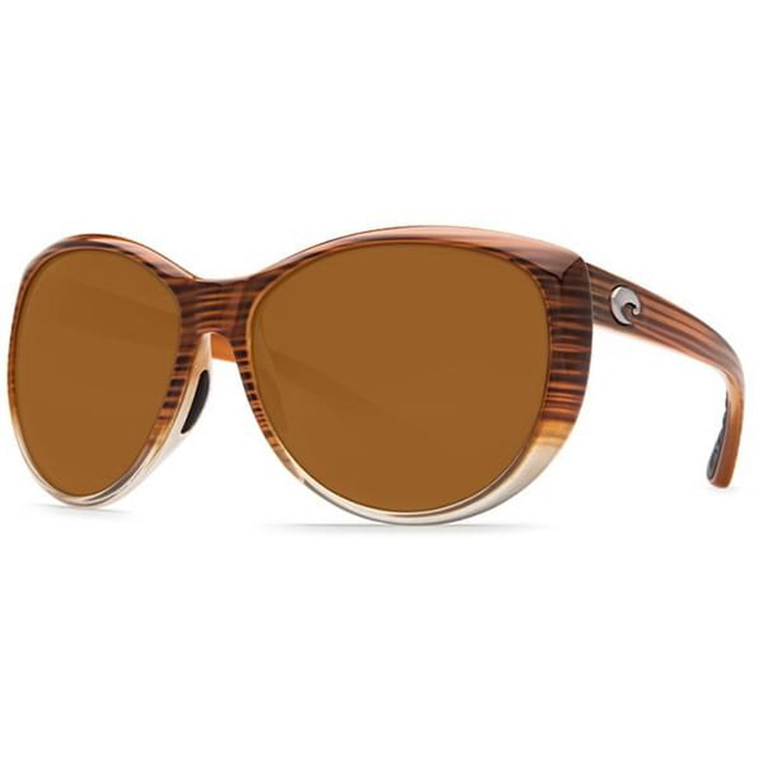 837a311656e47 Costa Del Mar LM 81 OCP La Mar Sunglasses 580P Frame Brown Lens