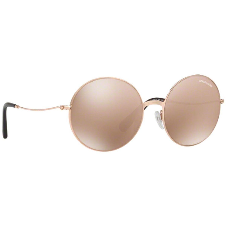 5cc358f22dff Michael Kors MK5017-ROSGLD-1026R1 Kendall II Sunglasses Gold Tone Frame  Rose Gold Lens