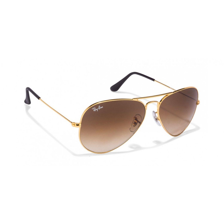 0fe6f086c Ray-Ban RB3025-001-51 Aviator Sunglasses Gold Frame Brown Gradient Lens