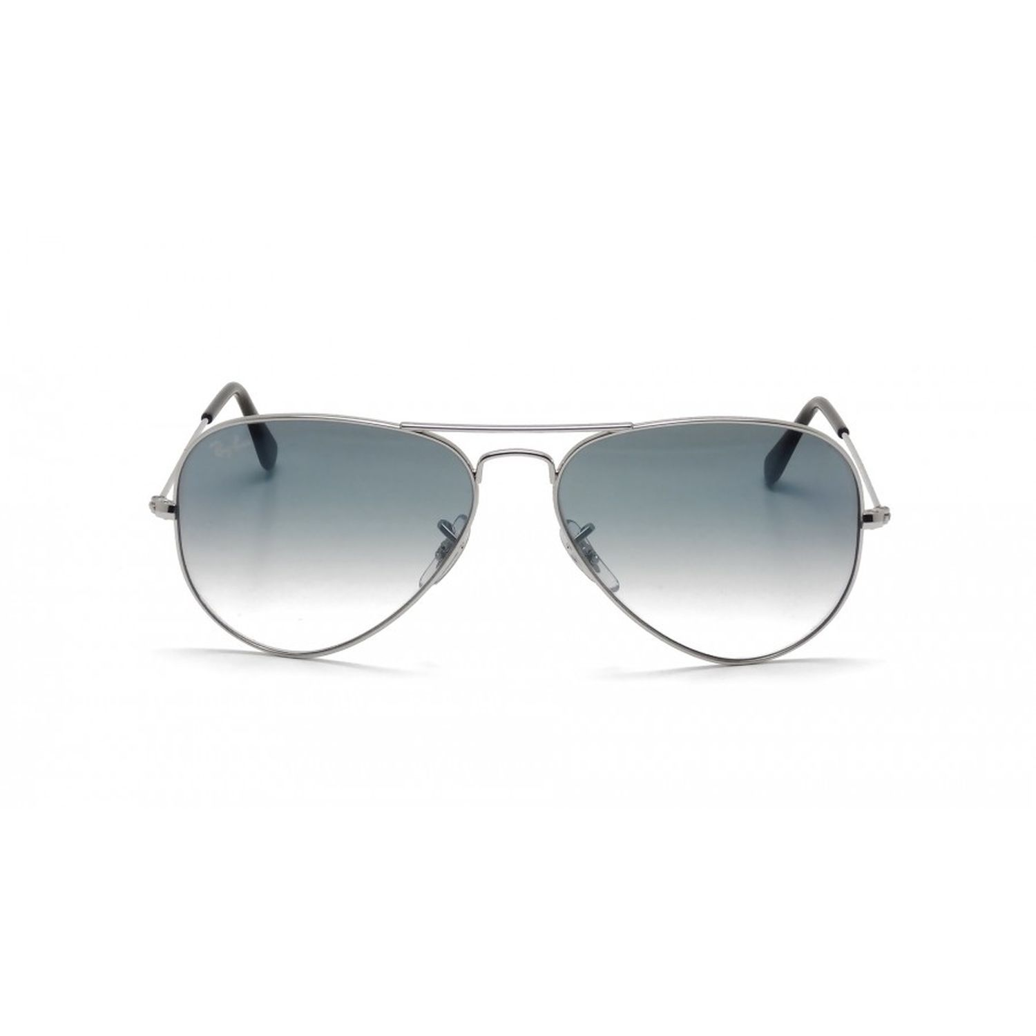 7e202559ee Ray-Ban RB3025-003-3F Aviator Sunglasses Silver Frame Blue ...