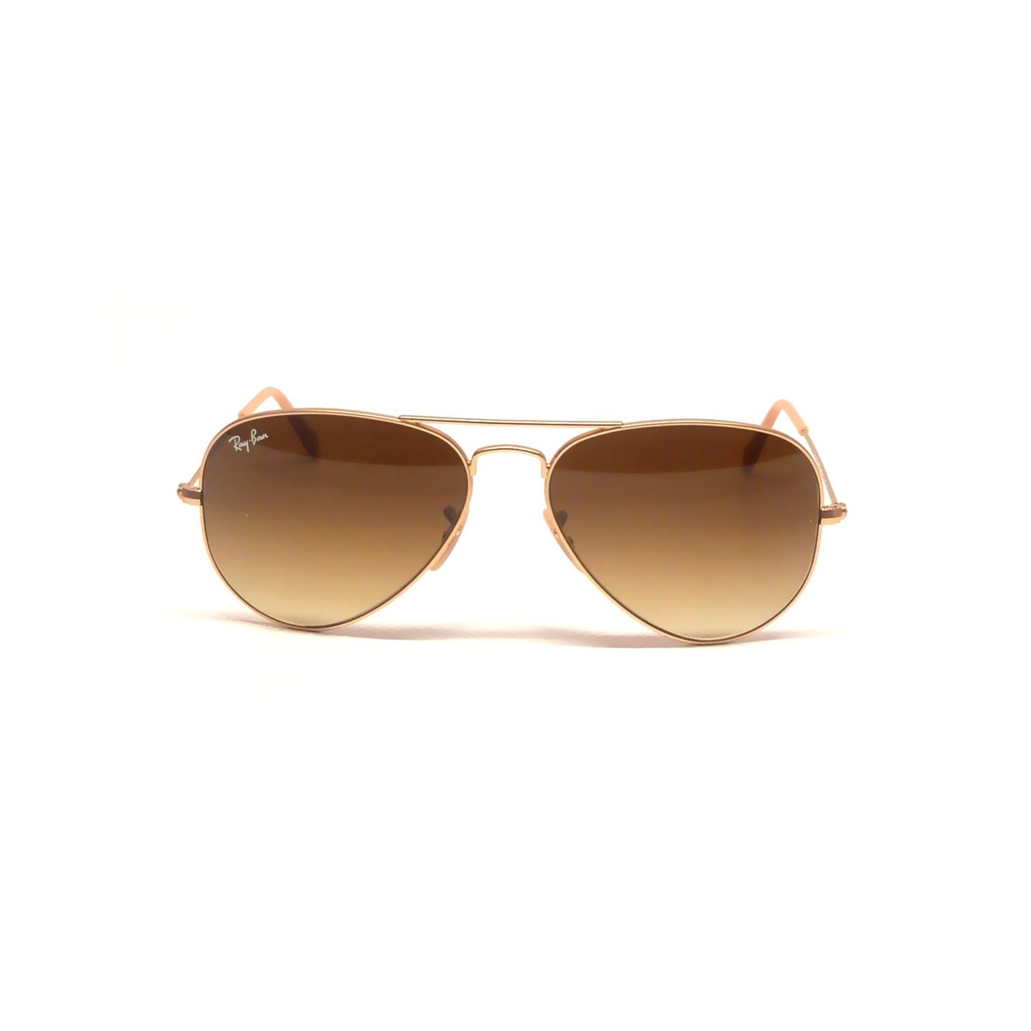 cf2e57538f Ray-Ban RB3025-112-85 Aviator Sunglasses Gold Frame Brown Gradient Lens
