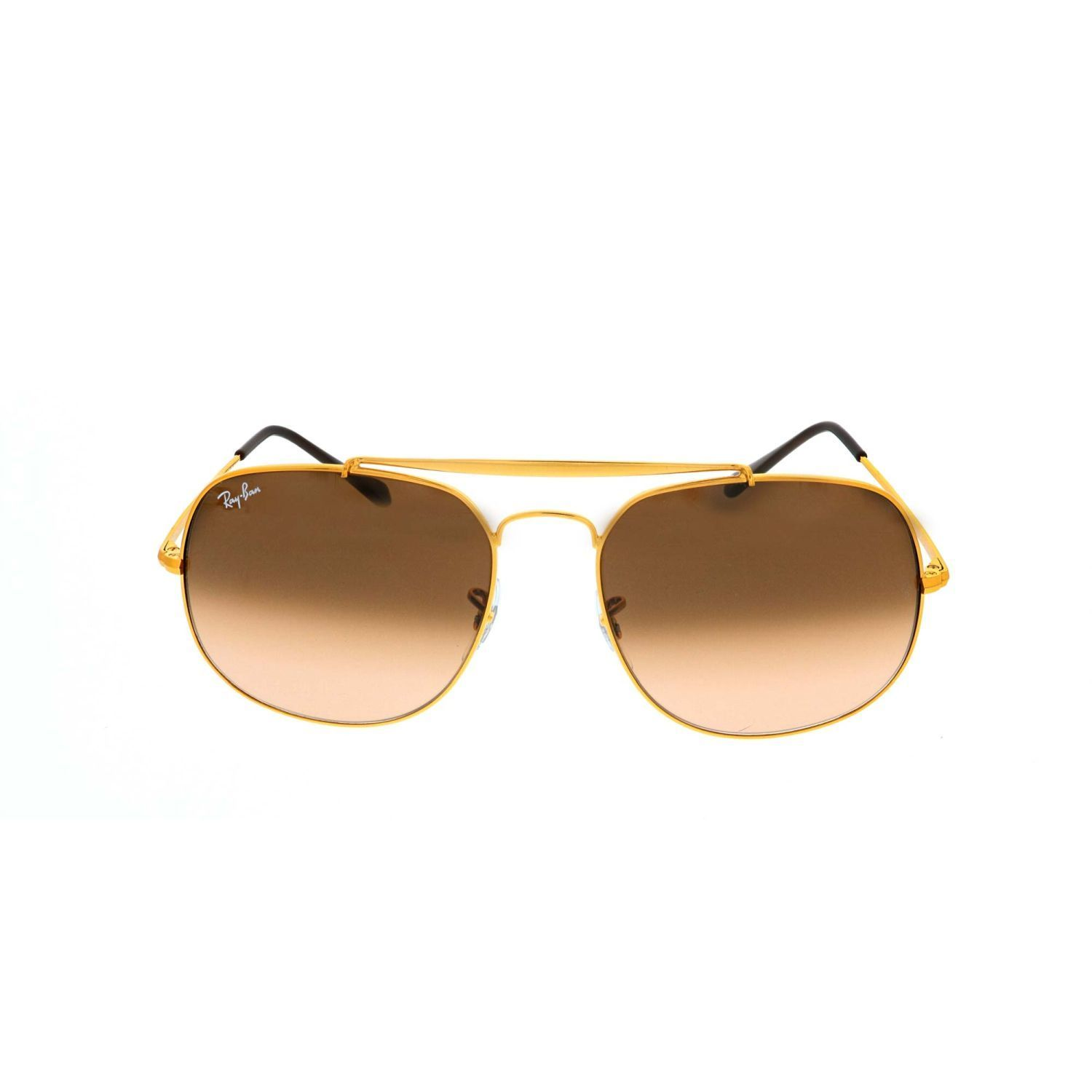 1d305afcb63 Ray-Ban RB3561-9001A5 Gradient Sunglasses Gold Frame Pink brown Lens