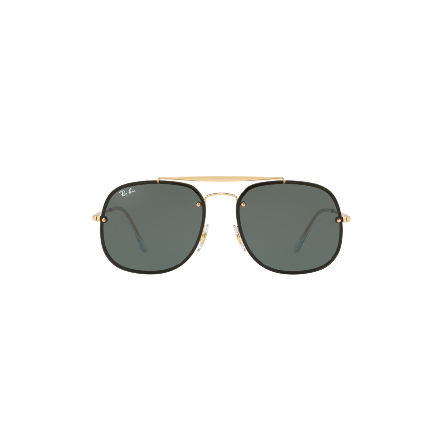 6eba1ce112e Ray-Ban RB3583N-9050-71 Blaze General Sunglasses Gold Frame ...