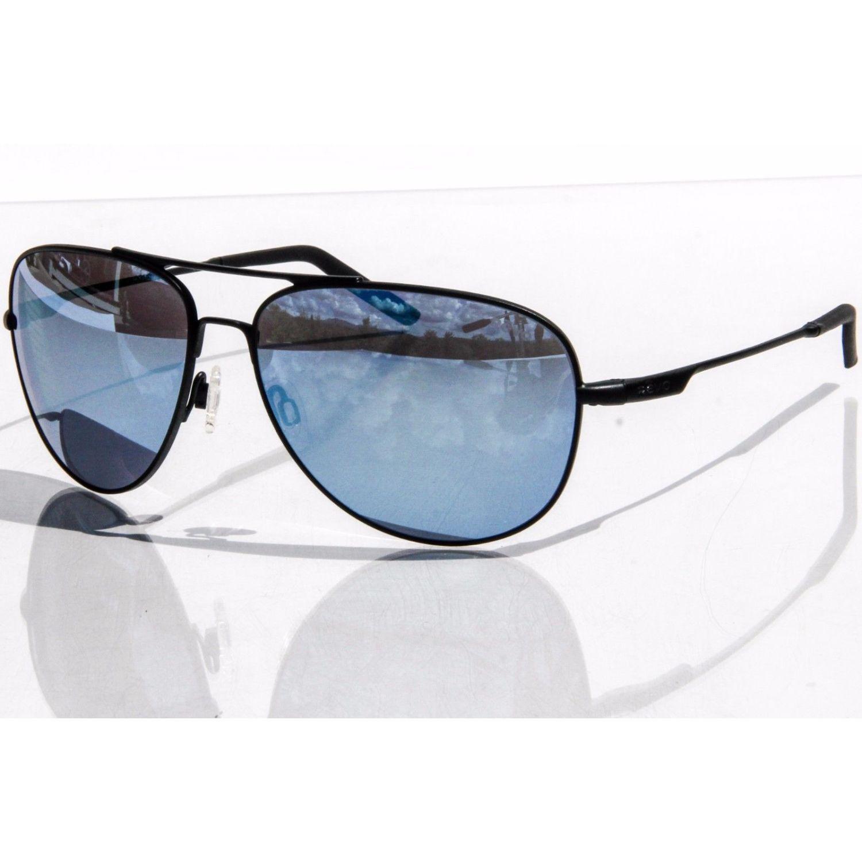 ce1452cd3fb Revo RE 3087 01 GBL Windspeed Sunglasses Matte Black Frame Blue Lens