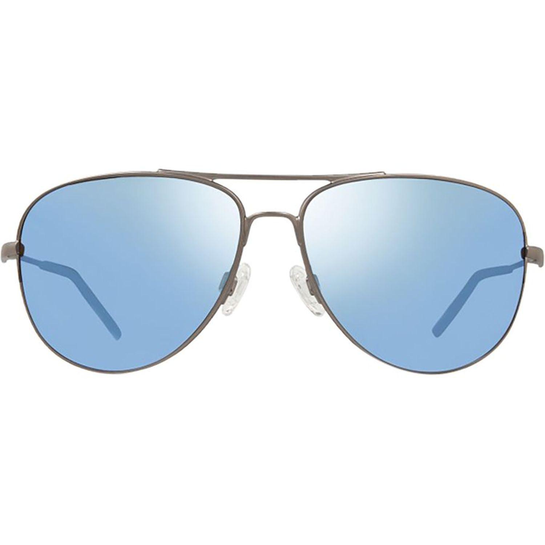 f63ebb3143 Revo RE 3087 03 GBL Windspeed Sunglasses Silver Frame Blue Lens