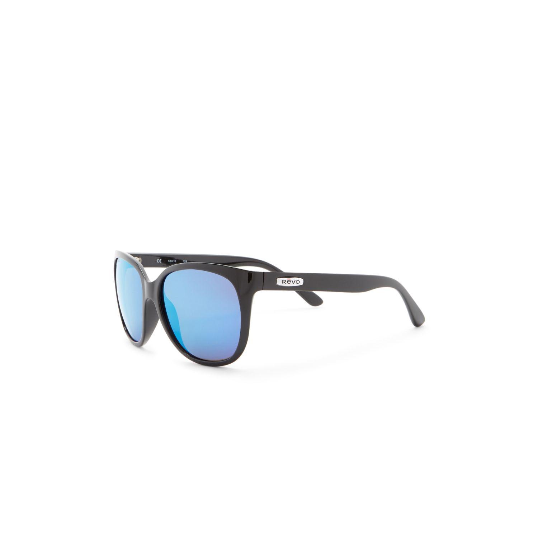 691ccaad7a Revo RE 4051 01 GHG Grand Classic Sunglasses Black Frame Blue Lens