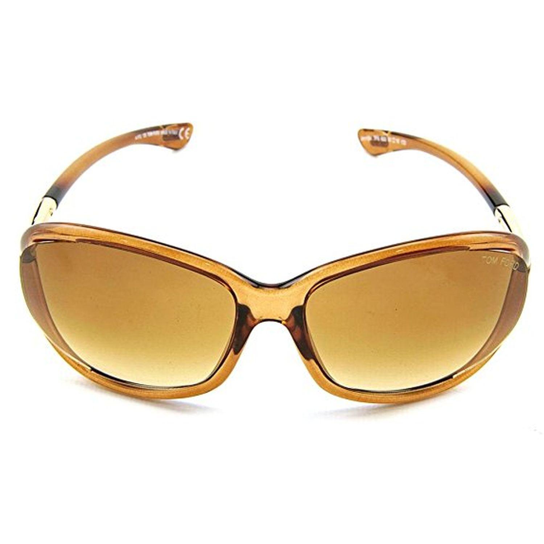 10c29501f6f Tom Ford TF8 602 61-16 Jennifer Sunglasses Brown Frame Brown ...