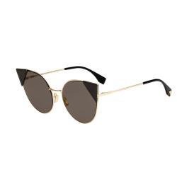 Fendi-FD0190_S---57RoseGold---000-2M-Lei-Sunglasses-Gold-Tone-Frame-Brown-Lens