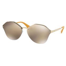 Prada-PR64TS-PaleGold-ZVN1C0-Round-Sunglasses-Gold-Frame-Gold-Mirror-Lens