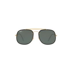 Ray-Ban-RB3583N-9050-71-Blaze-General-Sunglasses-Gold-Frame-Green-Lens