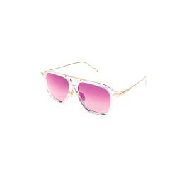 T-Henri-VANQUISH-DMD-54-Acetate-Sunglasses-DIAMOND-clear-Frame-Rose-Gradient-Lens