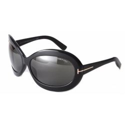 Tom-Ford-FT0428-68-01A-Oval-Sunglasses-Black-Frame-Grey-Lens