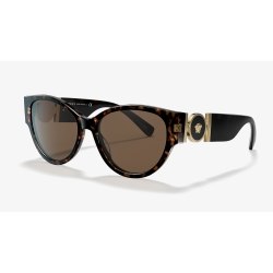 Versace--VE4368--108-7356-Acetate-Sunglasses-Brown-Frame-Brown-Lens
